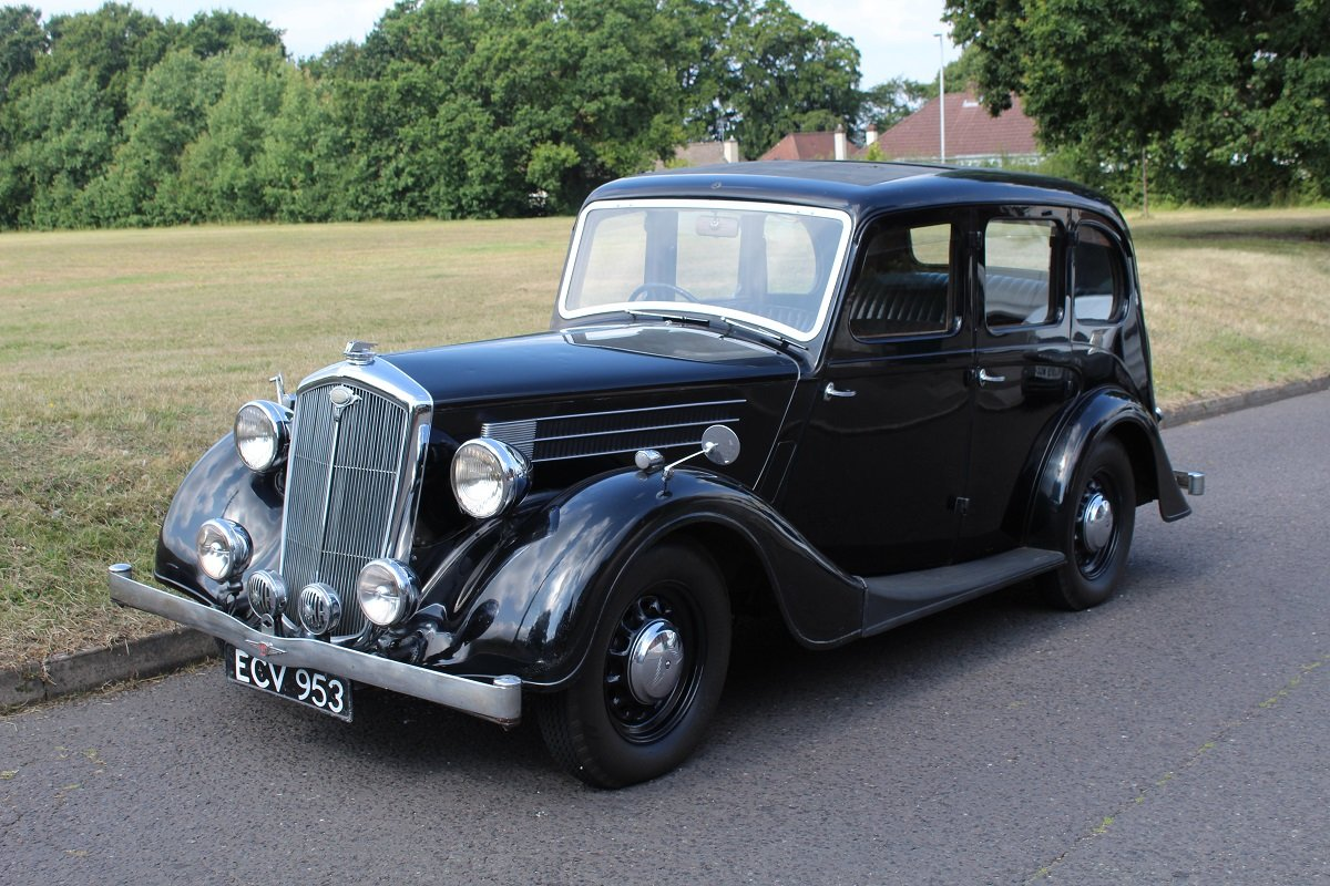 Wolseley 14/60 1938 - To be auctioned 25-10-19 For Sale by Auction (picture 1 of 6)