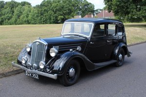 Wolseley 14/60 1938 - To be auctioned 25-10-19 For Sale by Auction