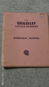 workshop manual 1500 wolseley