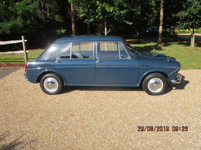 1966 Wolseley 1100 Deluxe (32000 miles from new) SOLD (picture 2 of 6)
