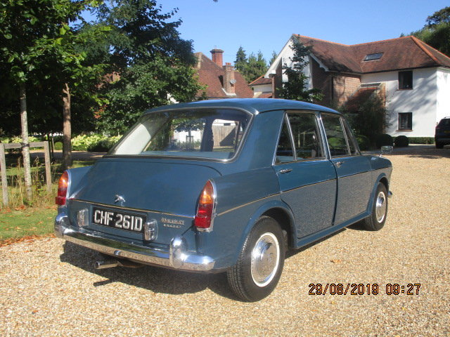 1966 Wolseley 1100 Deluxe (32000 miles from new) SOLD (picture 3 of 6)