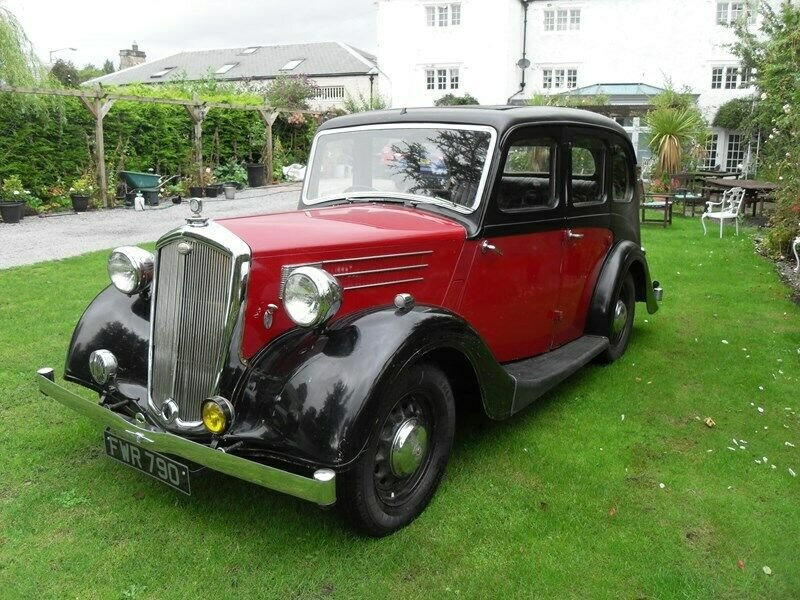 1946 WOLSELEY 12/48 TAX & MOT EXEMPT STUNNING VINTAGE CAR For Sale (picture 1 of 6)
