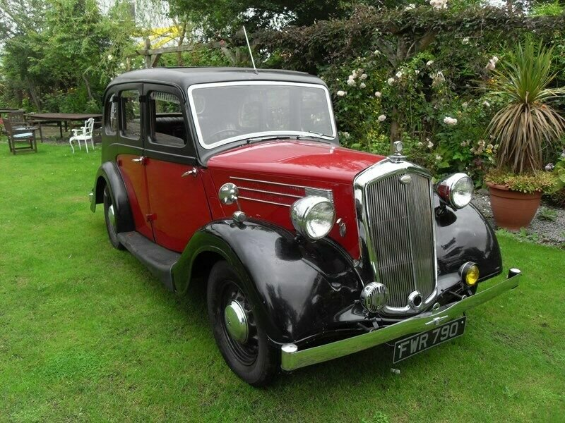 1946 WOLSELEY 12/48 TAX & MOT EXEMPT STUNNING VINTAGE CAR For Sale (picture 2 of 6)