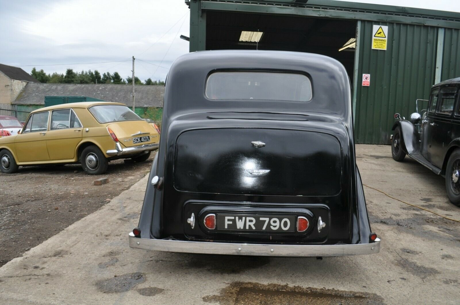 1946 WOLSELEY 12/48 TAX & MOT EXEMPT STUNNING VINTAGE CAR For Sale (picture 3 of 6)