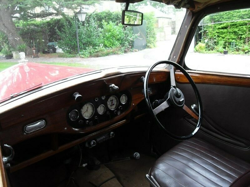 1946 WOLSELEY 12/48 TAX & MOT EXEMPT STUNNING VINTAGE CAR For Sale (picture 4 of 6)