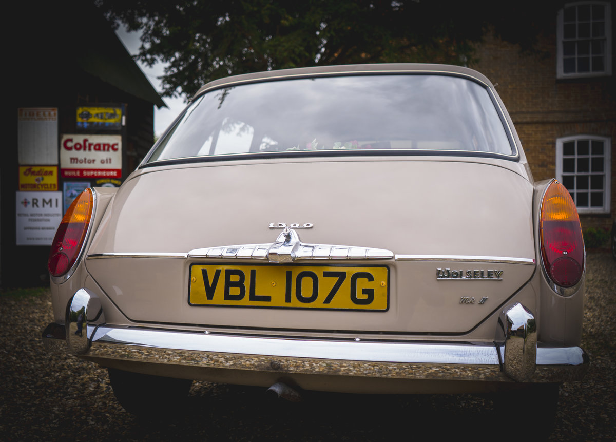 1968 Wolseley 1300 MK2 Genuine Original  For Sale (picture 6 of 6)