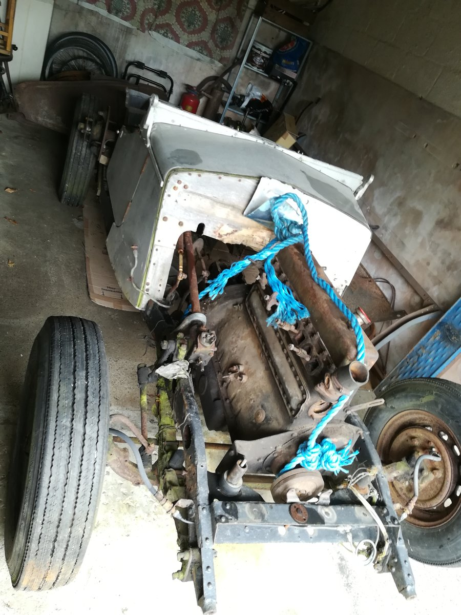 1937 Wolseley sports 6 cylinder project with V5C For Sale (picture 1 of 6)
