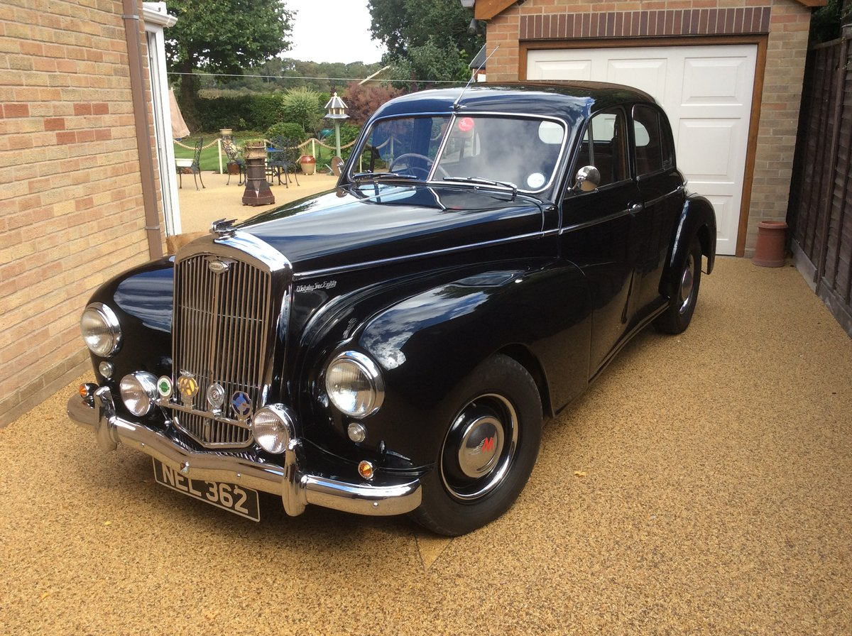 1953 Wolseley 6/80 EXCELLENT CONDITION SOLD (picture 1 of 6)
