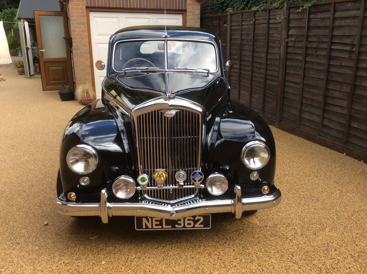 1953 Wolseley 6/80 EXCELLENT CONDITION SOLD (picture 2 of 6)