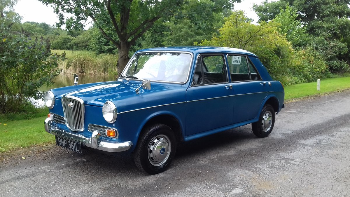1972 WOLSELEY 1300 (MORRIS/AUSTIN 1300) ~ STARTER CLASSIC! SOLD (picture 1 of 6)