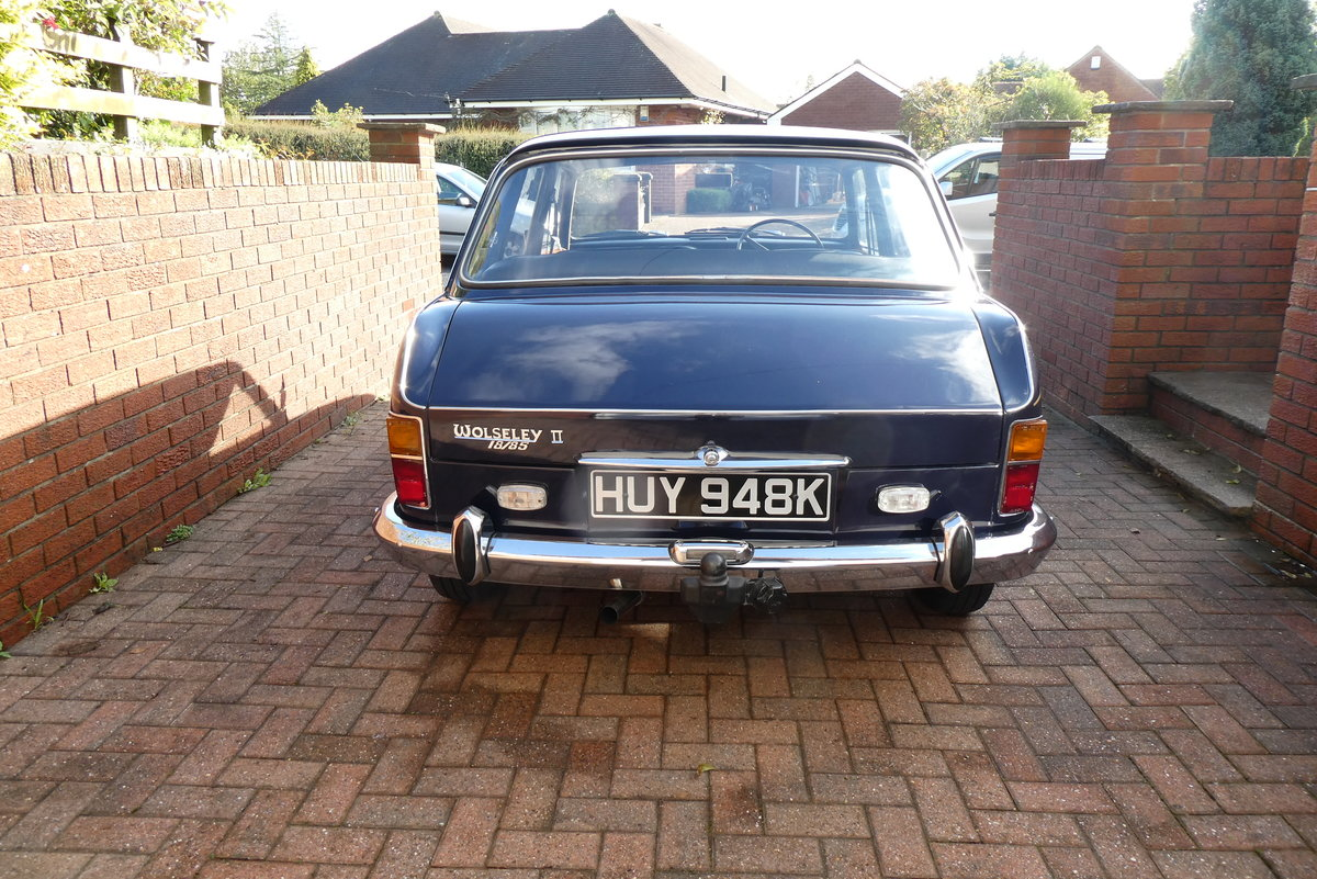 1971 Wolseley 18 85 SOLD (picture 2 of 6)