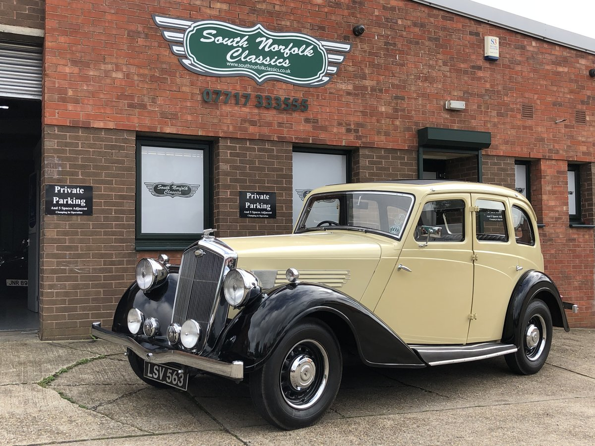 1936 Wolseley Super Six SOLD (picture 1 of 6)