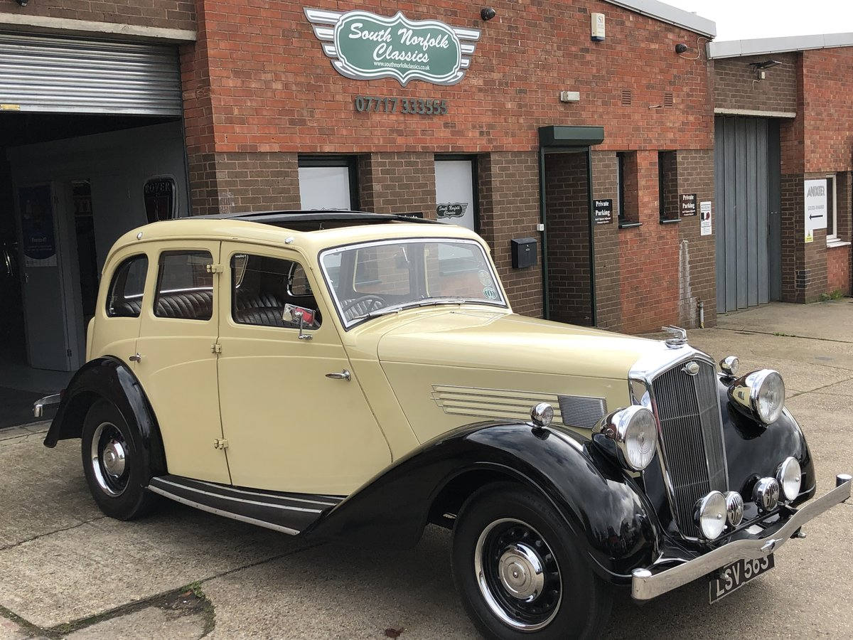 1936 Wolseley Super Six SOLD (picture 2 of 6)