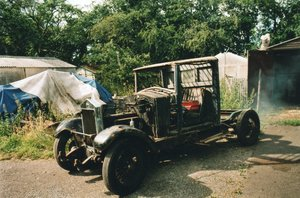 1931 Wolseley restoration project