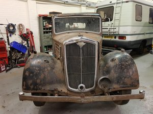 1947 Wolseley 12 Restoration project