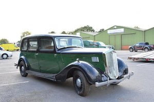 1937 Wolseley 25hp Limousine For Sale by Auction
