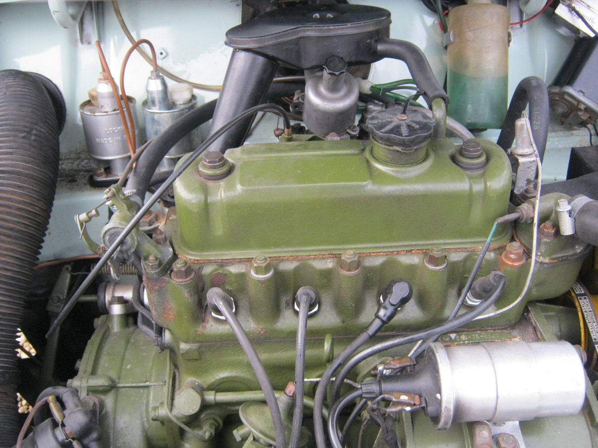 1967 WOLSELEY HORNET Mk3. PORCELAIN GREEN. 67,000 MILES For Sale (picture 6 of 6)