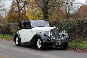 Wolseley 21 Tickford Drop Head Coupe