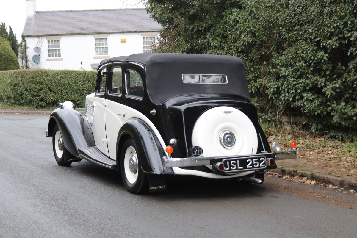 1936 Wolseley 21 Tickford Drop Head Coupe  For Sale (picture 4 of 21)