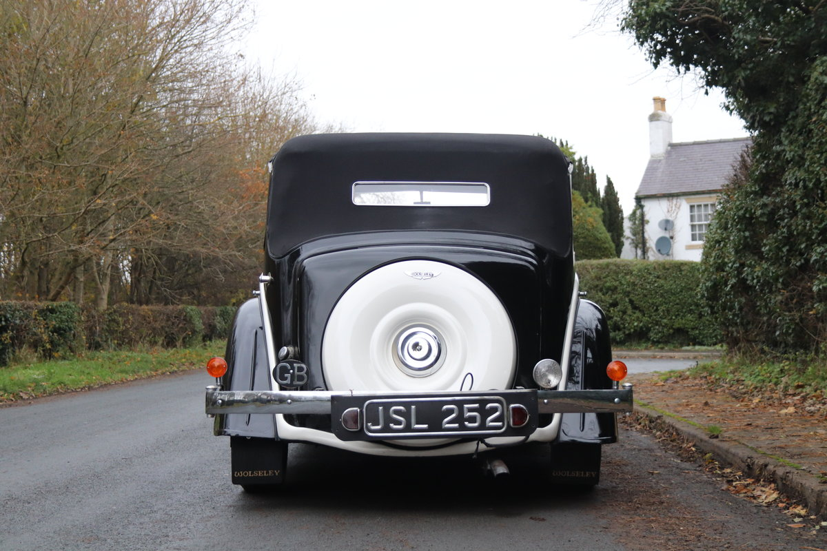 1936 Wolseley 21 Tickford Drop Head Coupe  For Sale (picture 5 of 21)