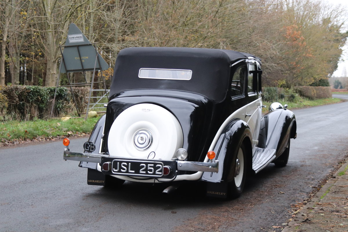 1936 Wolseley 21 Tickford Drop Head Coupe  For Sale (picture 6 of 21)