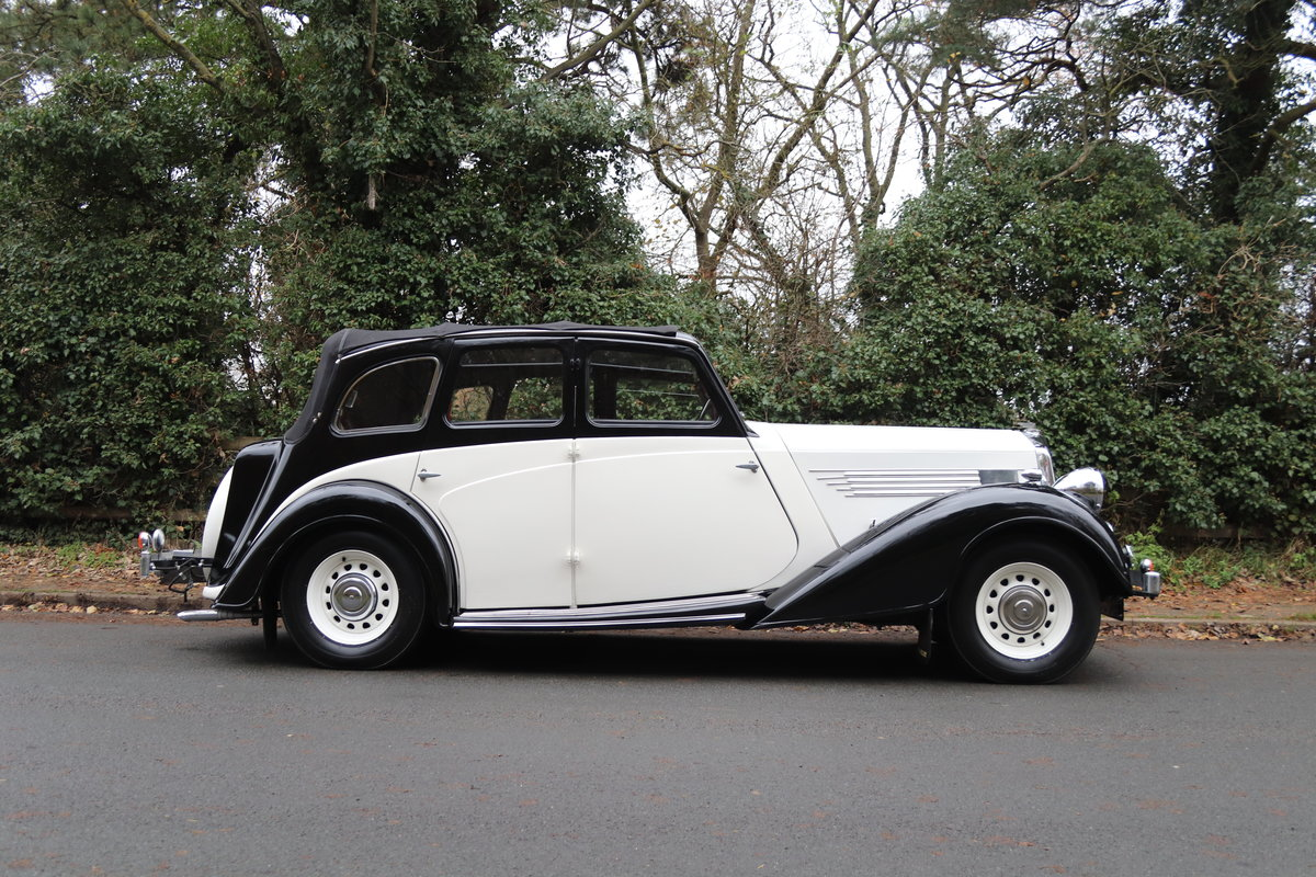1936 Wolseley 21 Tickford Drop Head Coupe  For Sale (picture 7 of 21)