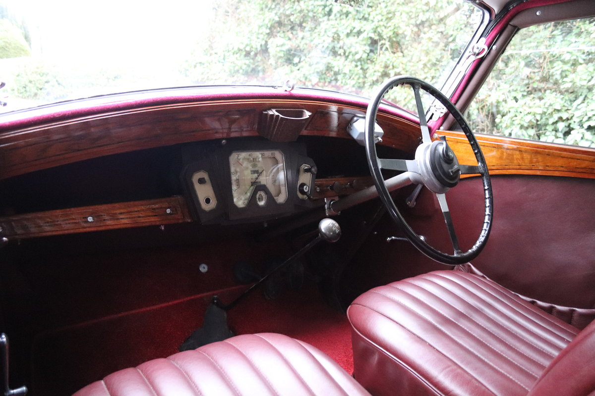1936 Wolseley 21 Tickford Drop Head Coupe  For Sale (picture 11 of 21)