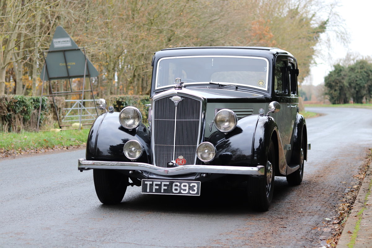 1937 Wolseley 18/80 Salon De Ville - Great Film History SOLD (picture 9 of 24)