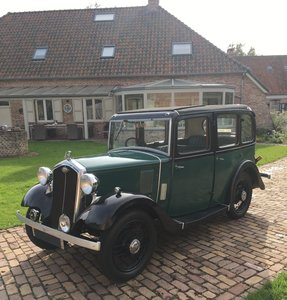 1933 Wolseley Nine Collectors Item