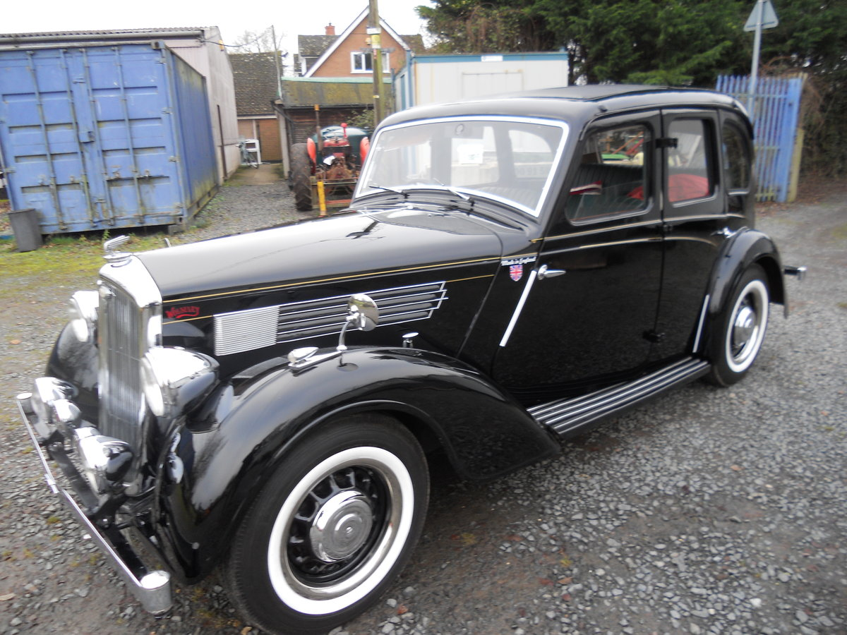 1938 Wolseley 14/56 For Sale (picture 1 of 6)