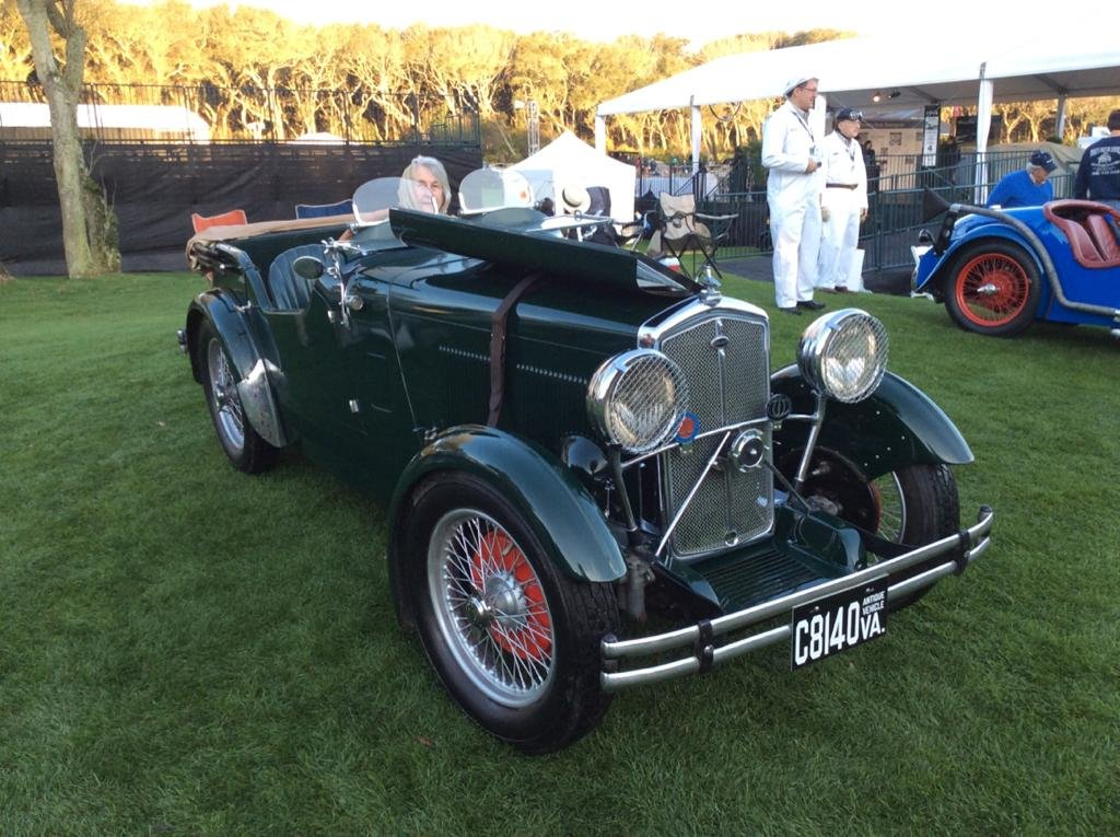 1933 Wolseley Hornet Daytona Sports  - SOLD  SOLD (picture 6 of 6)