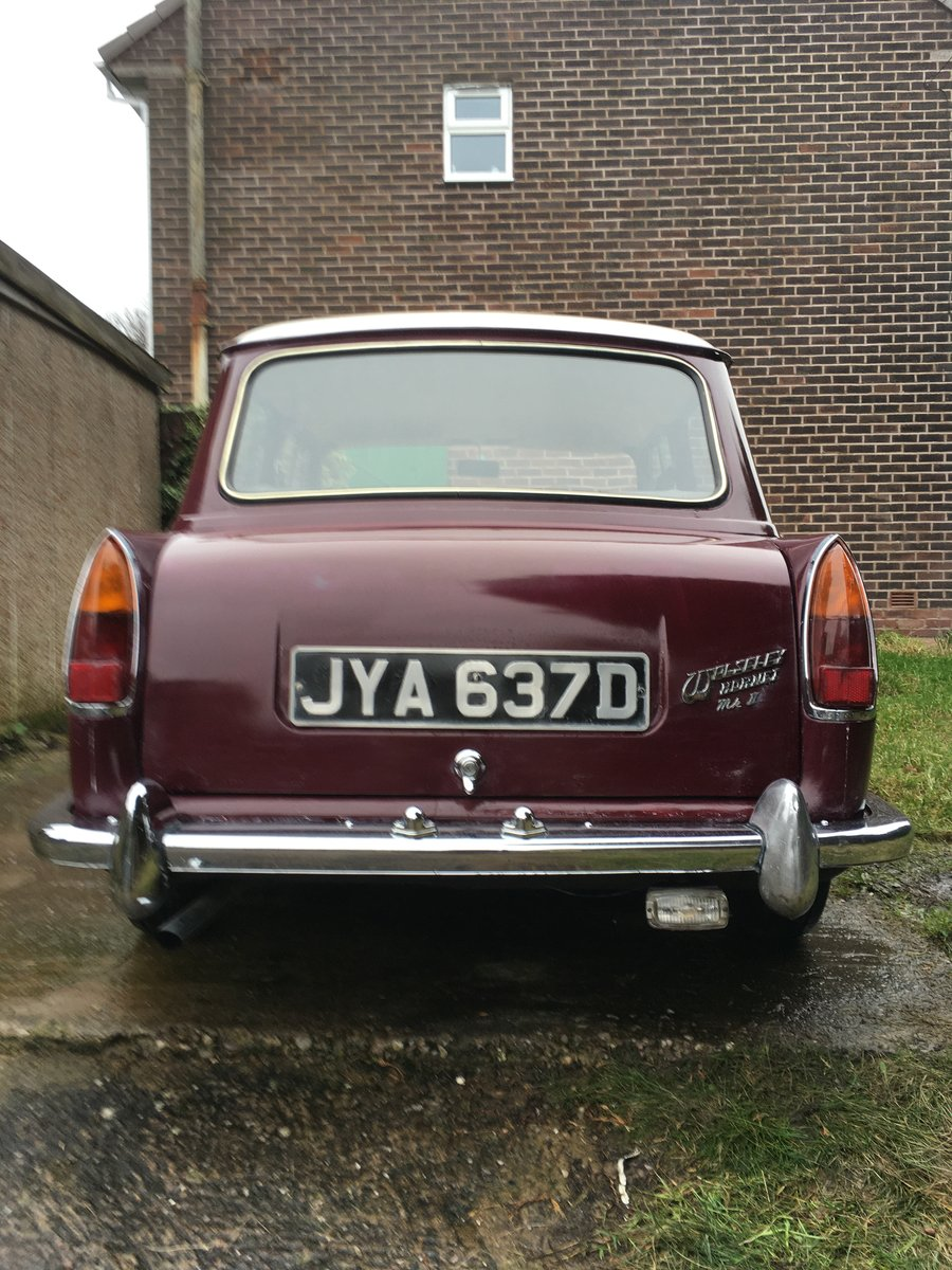 1966 Wolseley hornet For Sale (picture 2 of 6)