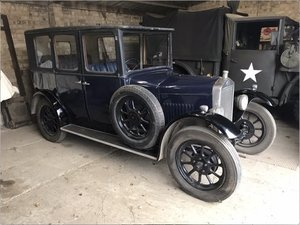 1926 Wolseley saloon SOLD