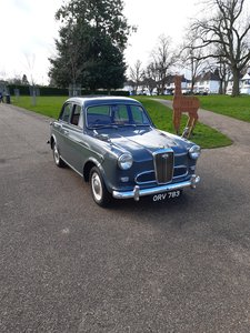 1957 Wolseley 1500, exceptional condition.