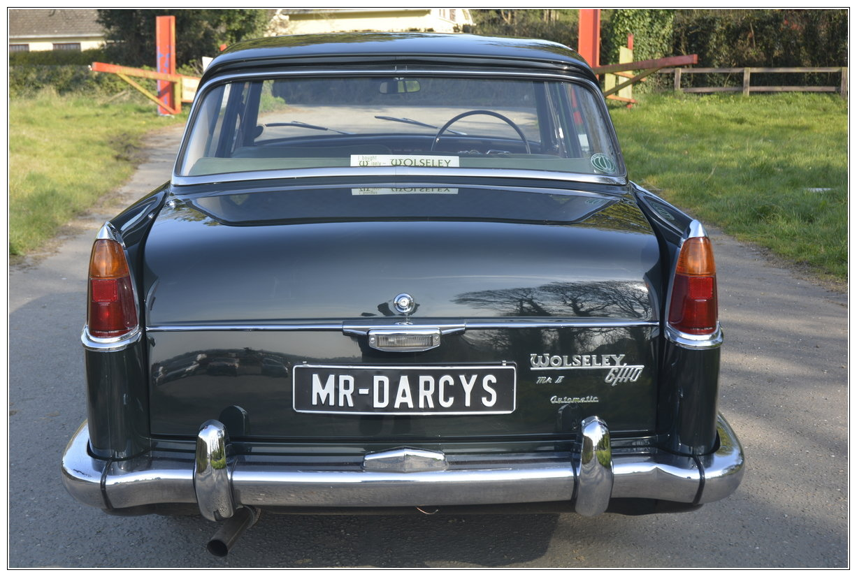 1965 Stunning Wolseley 6/110 For Sale (picture 2 of 6)