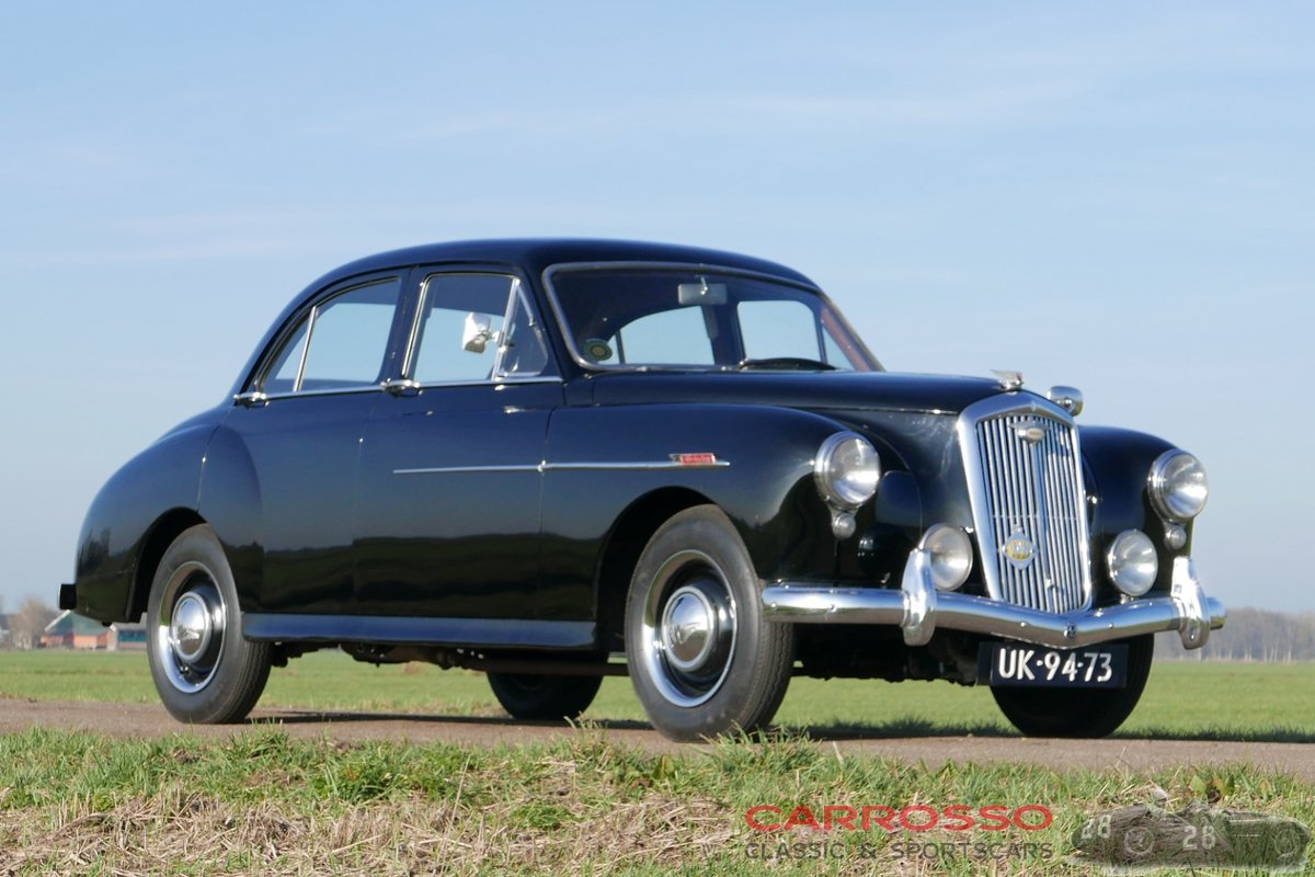 1956 Wolseley 4/44 in good and unrestored condition For Sale (picture 1 of 6)