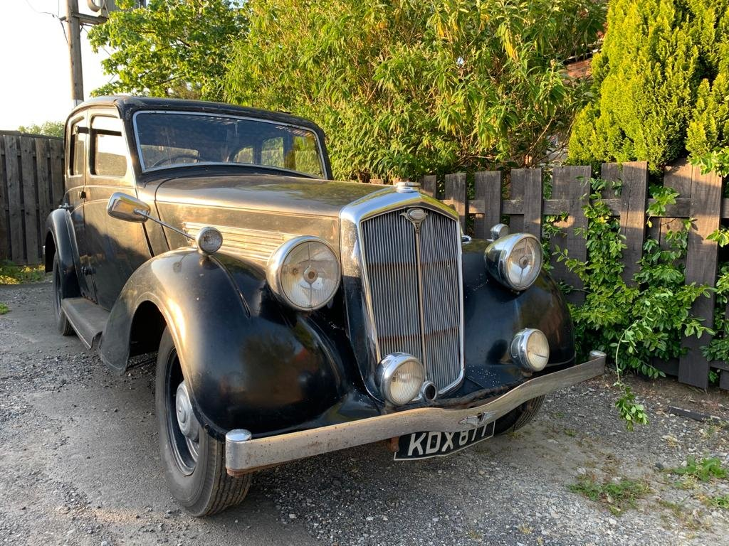1936 Wolseley 21/6 - Barn Find, Requires Full Restoration SOLD (picture 1 of 8)