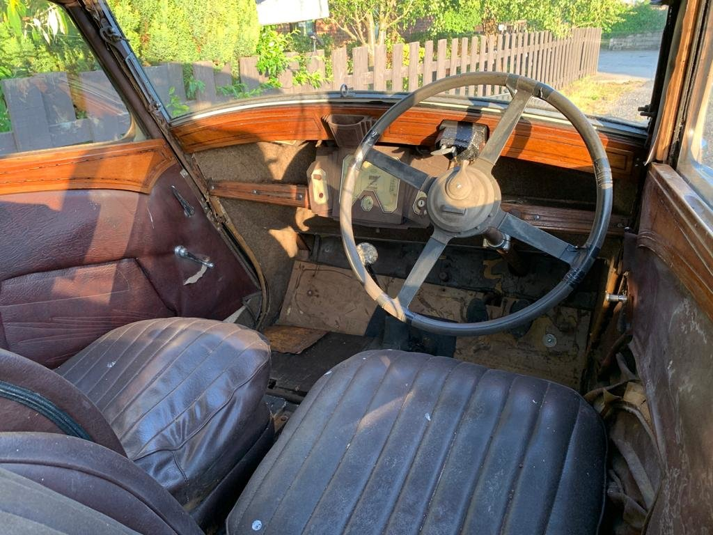 1936 Wolseley 21/6 - Barn Find, Requires Full Restoration SOLD (picture 6 of 8)