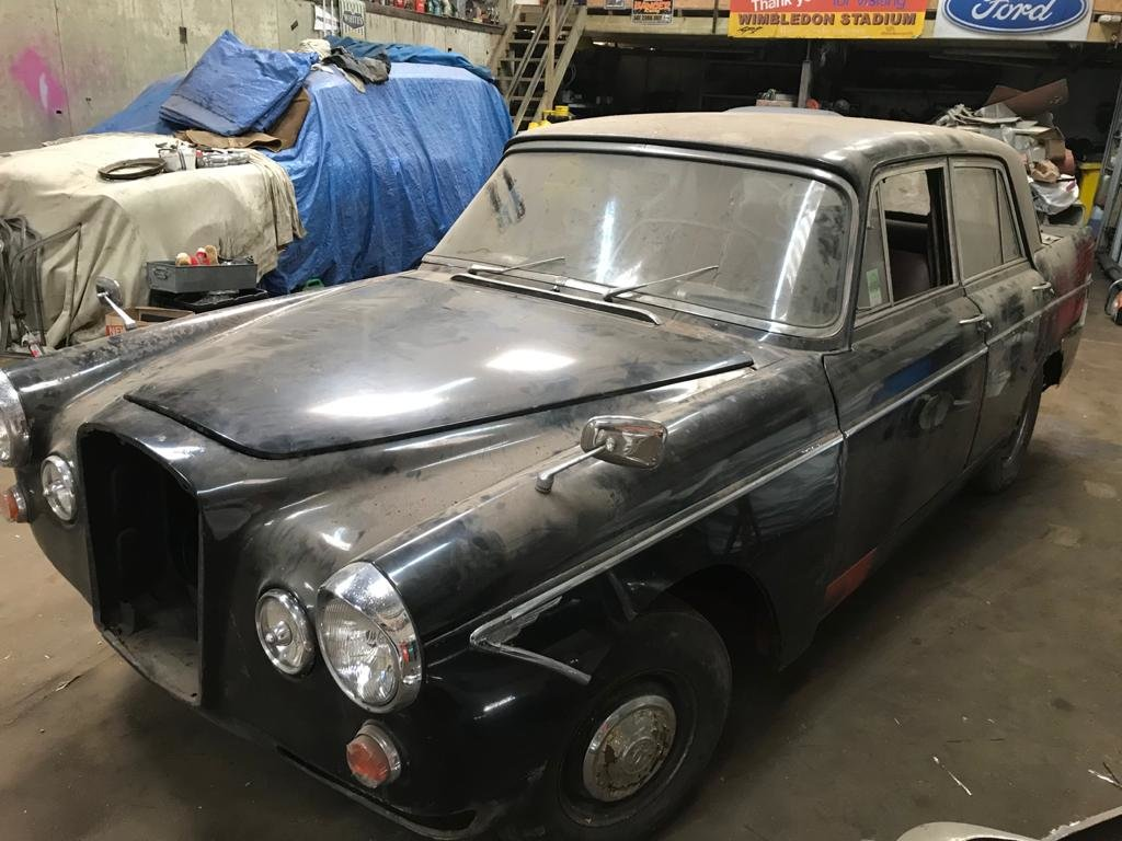 1968 WOLSELEY 6/110 GENUINE BLACK CAR For Sale (picture 2 of 6)