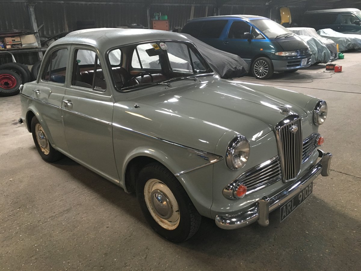 1964 Wolseley 1500 Ideal enthusiasts car SOLD (picture 1 of 4)