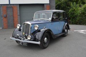 1939 Wolseley 12/48 Saloon