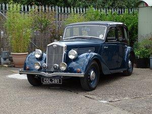 1938 Wolseley 14/56 Saloon