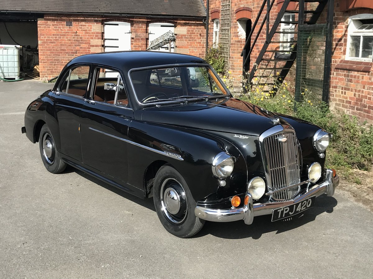 1953 Wolseley 4/44 1250 cc SOLD (picture 1 of 6)