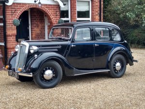 1939 Wolseley Ten - 10 Series 3. Stunning Condition