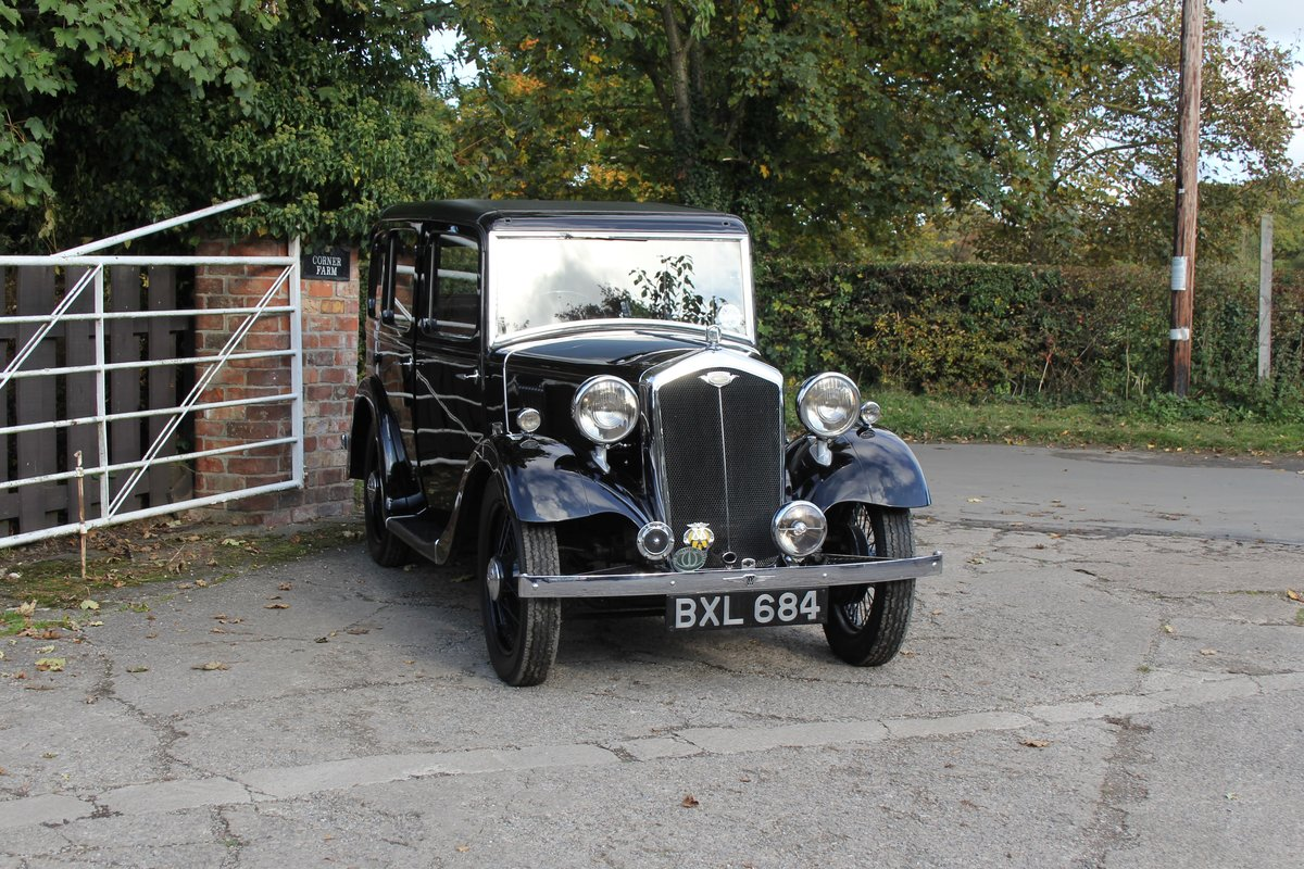 1935 Wolseley 9 - Beautifully restored show winner For Sale (picture 1 of 18)
