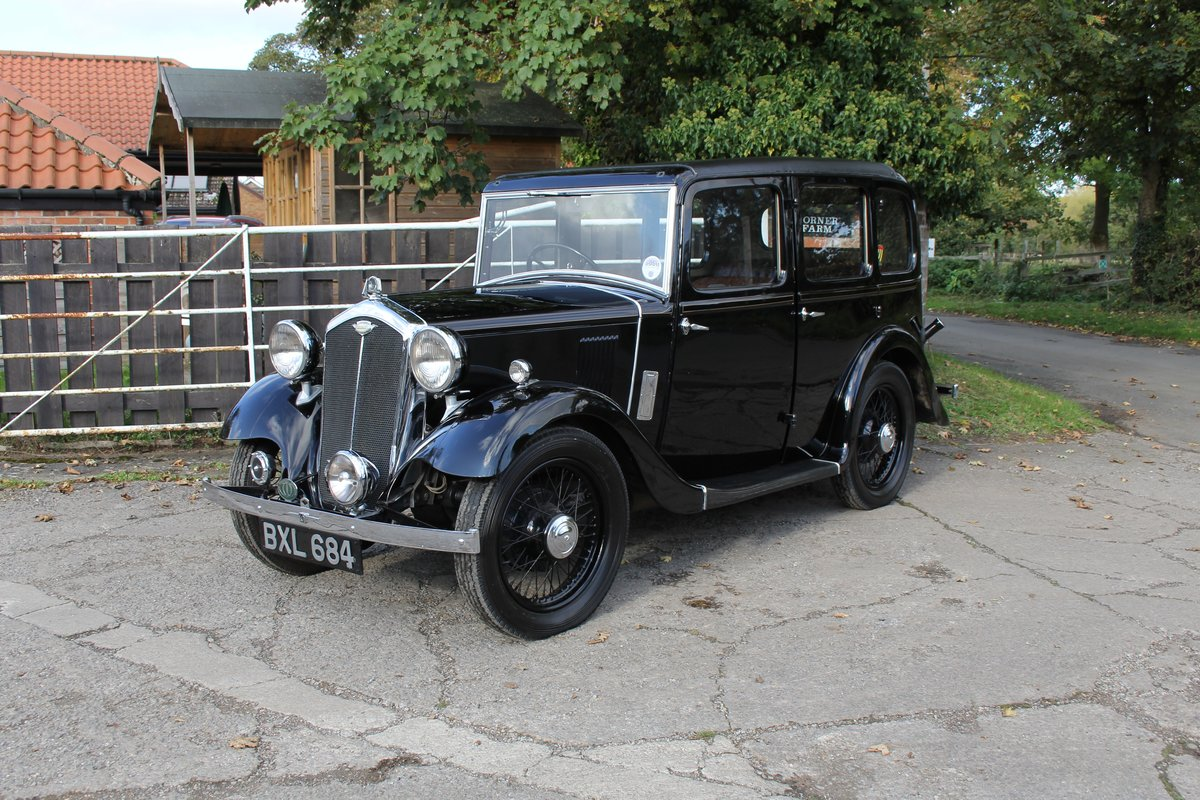 1935 Wolseley 9 - Beautifully restored show winner For Sale (picture 3 of 18)