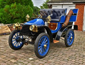 1903 Wolseley 10hp Rear Entrance Tonneau.