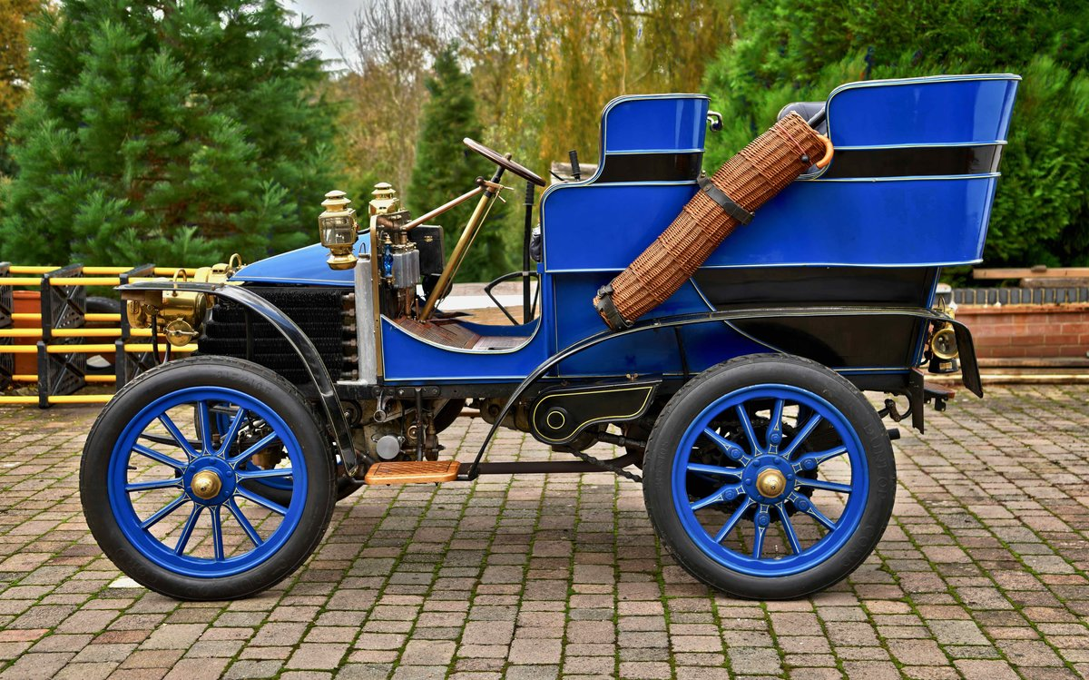 1903 Wolseley 10hp Rear Entrance Tonneau. For Sale (picture 2 of 6)