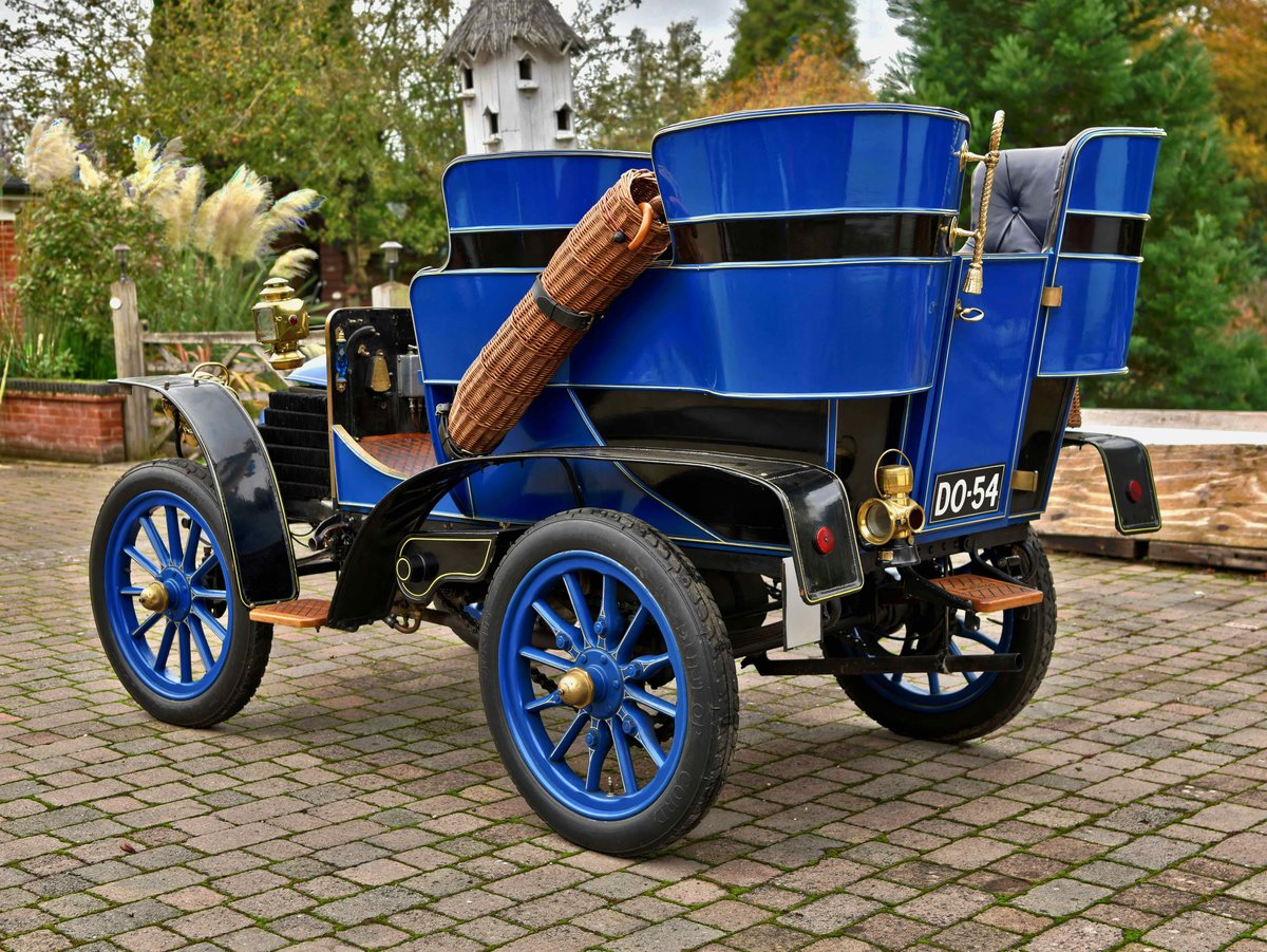 1903 Wolseley 10hp Rear Entrance Tonneau. For Sale (picture 3 of 6)