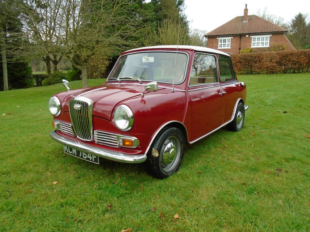1968 Wolseley Hornet For Sale (picture 1 of 6)
